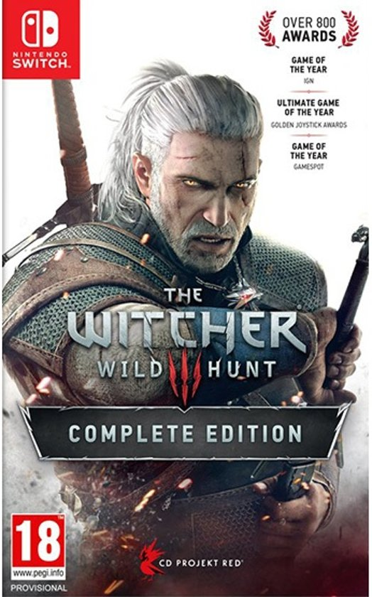 Image result for Witcher 3: Wild Hunt cover switch""