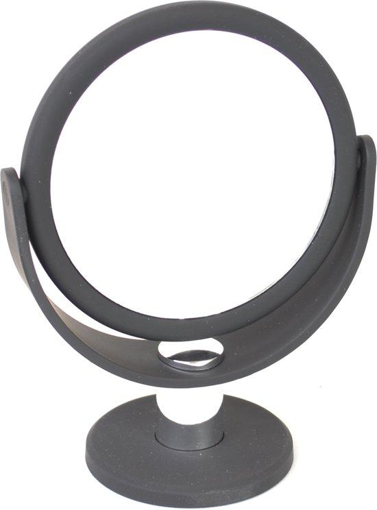 Spiegel met rubbercoating Ø10,5cm/5x vergroting