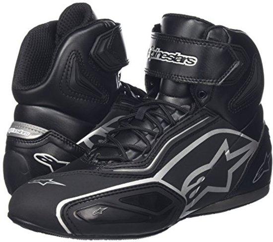 Alpinestars Black Shoes 2 Faster zilver 8C8q4w
