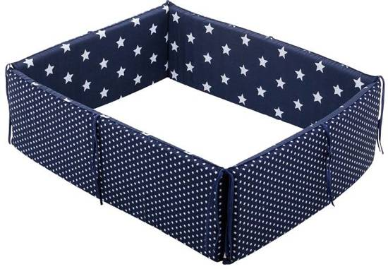 Little Dutch Boxomrander Ster Donkerblauw/Wit
