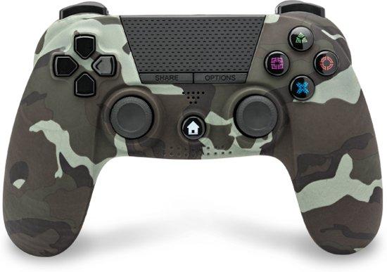 Under control PS4 bluetooth camouflage controller met koptelefoonaansluiting