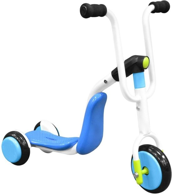 Stamp 2-in-1 Tri-scooter Step - Step - Jongens en meisjes - Blauw