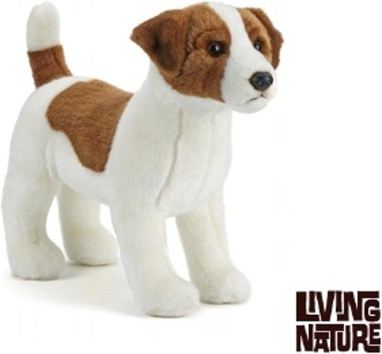 Wonderbaar bol.com | Living Nature Knuffel Hond Jack Russel, Living nature ZW-71