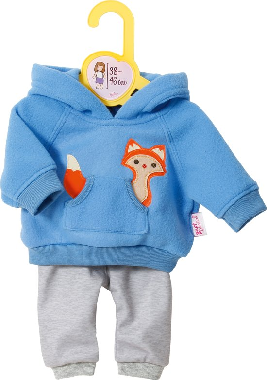 Dolly Moda Joggingsuit Blue 38-46 cm