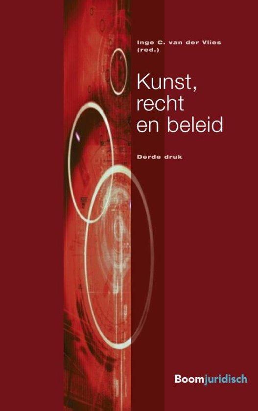 Boek cover Overige publicaties - Kunst, recht en beleid van Inge van der Vlies (Paperback)