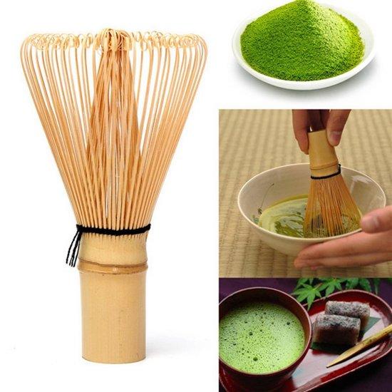 Matcha klopper van bamboe voor groene thee | Garde / Whisk / Chasen | 1 stuk | REBL