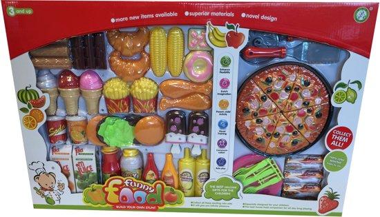 Fastfood Keuken Inrichting : Speelgoed Fastfood 40delig kopen voor Keuken van Johntoy