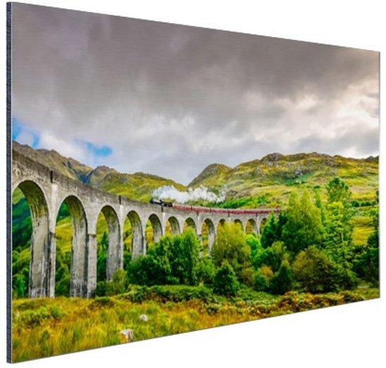 FotoCadeau.nl - Schots landschap  Aluminium 120x80 cm - Foto print op Aluminium (metaal wanddecoratie)