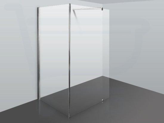 Bol saniclass vitry inloopdouche cm cm chroom