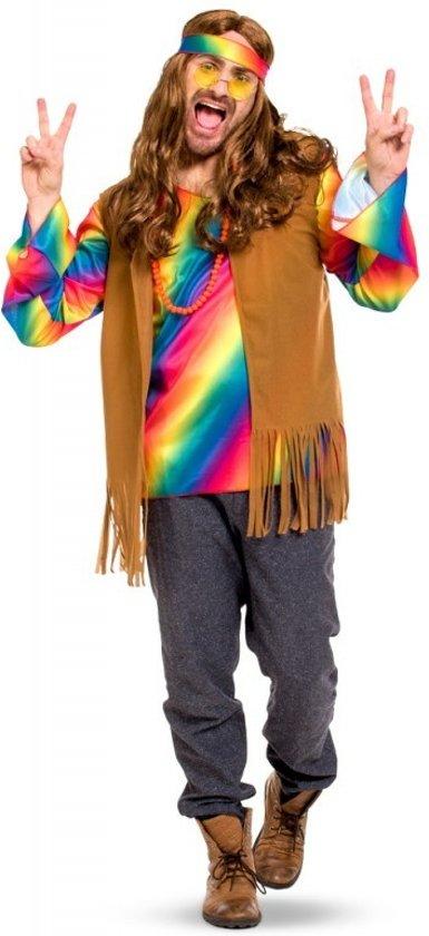 7eaf34f5abc bol.com | Hippie Outfit Heren - Maat XL - XXL, Folat | Speelgoed