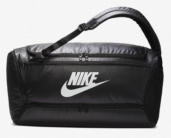 Nike  Brsla Bkpk Duff Unisex Sporttas - Black/Black/(White)