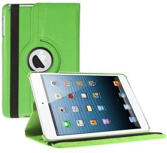 iPad (2017) 9.7 - 5e Generatie Hoes 360 Graden Multi-Stand Case Draaibaar - Groen in Schaaphok
