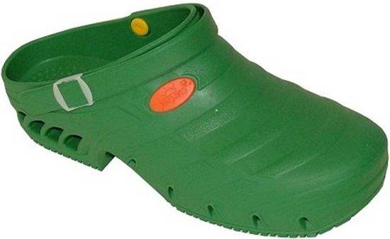 Sun Shoes Studium Groen SEBS Clogs Uniseks