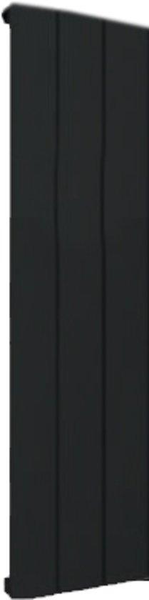 Design radiator verticaal aluminium mat zwart 60x28cm 316 watt -  Eastbrook Peretti