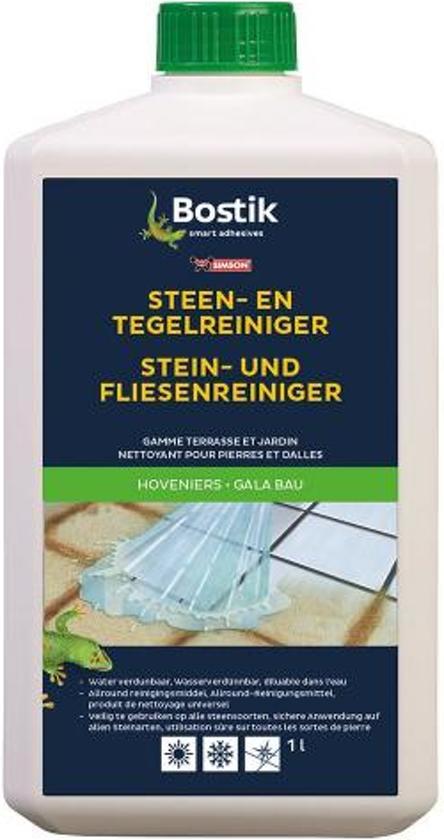 Bostik Steen & Tegelreiniger 4 x 1 liter