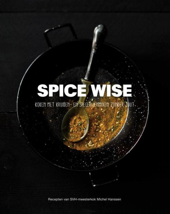 Boek cover Spice Wise van Michel Hanssen (Hardcover)