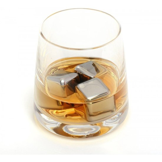 Bolcom Remax 304 Stainless Steel Whiskey Ice Cubes Stalen