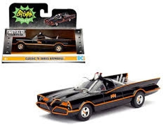 Jada Toys Batmobile Batman Classic TV Series 1//32 Diecast Metal