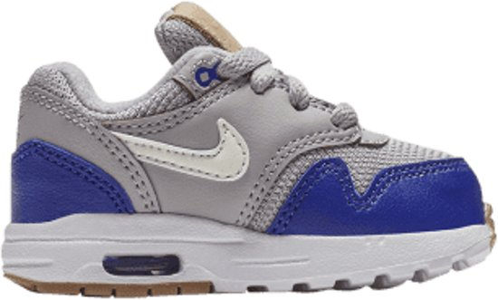51680ec5739 bol.com | Nike Air Max 1 TD - Sneakers - Grijs/Blauw - Jongens - Maat 21