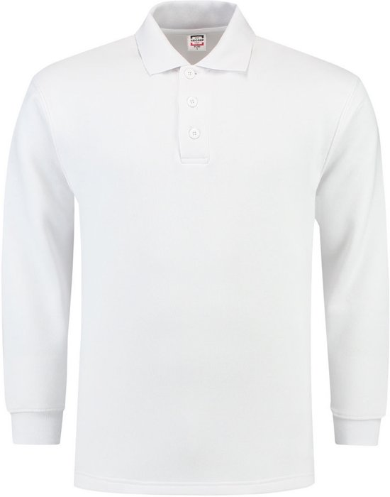 Tricorp polosweater - Casual - 301004 - wit - maat XXL