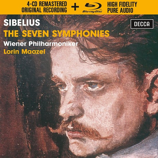The Symphonies (4Cd Remastered+ 1 blu-ray)