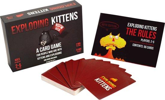 Thumbnail van een extra afbeelding van het spel Exploding Kittens (NSFW Edition) - Kaartspel - Engelstalig