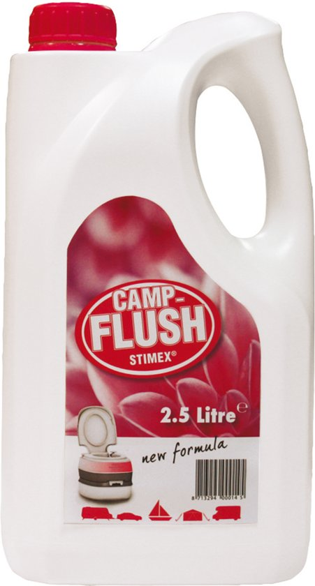 Stimex Toiletvloeistof - Camp Flush - 2,5 Liter