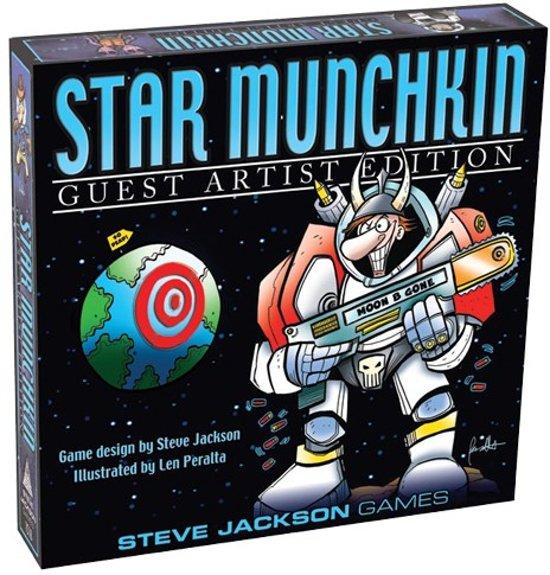 Afbeelding van het spel Star Munchkin Guest Artist Edition - Engelstalig