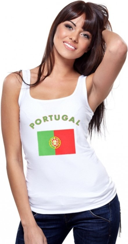 Portugal tanktop dames S