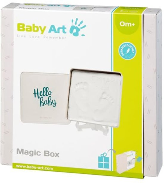 Baby Art Magic Box square shape (essentials) - 2019