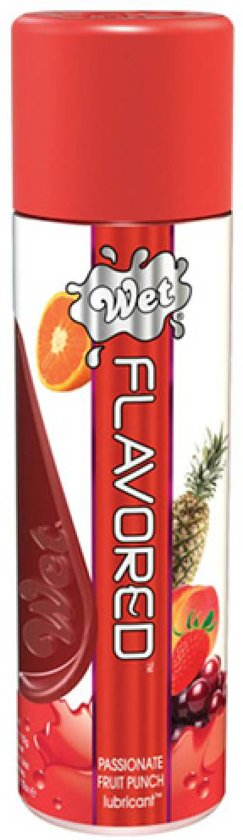 WET Flavored Passionate Fruit Punch Glijmiddel - 107ml