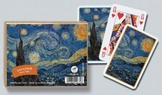 Afbeelding van het spel SPEEL-KAARTEN-SET VAN GOGH STARRY NIGHT