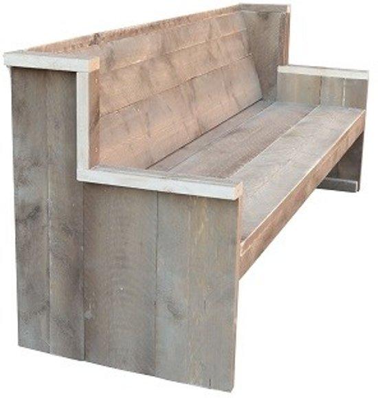 Wood4you - Tuinbank Zeeland Steigerhout - Bouwpakket