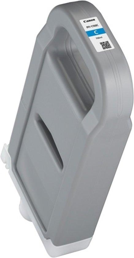 Canon PFI-1700C inktcartridge Cyaan 700 ml