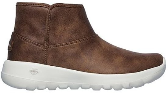 Harvest Joy Skechers Go On Dames Bruin Laarzen The 34Aj5LcSRq