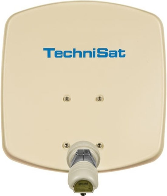 wall mount TechniSat DigiDish 33 universele-V/H-LNB beige