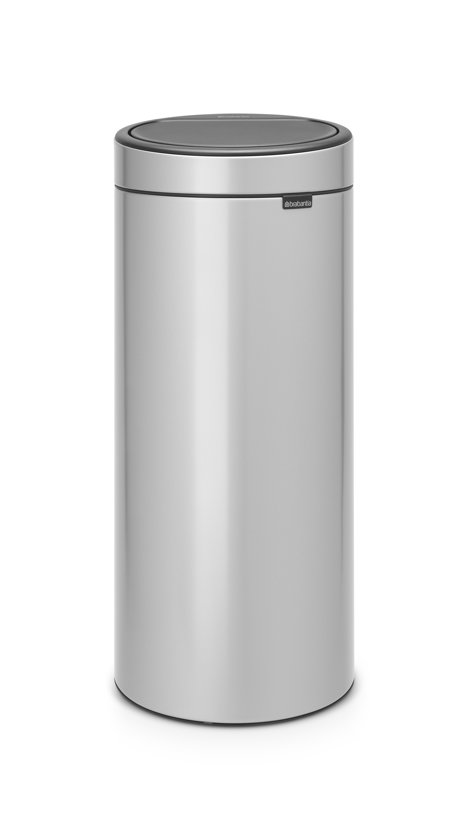 Brabantia Touch Bin 30 Liter Metallic Grey