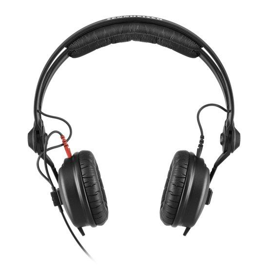 Sennheiser HD 25 Plus Zwart Supraaural Hoofdband koptelefoon