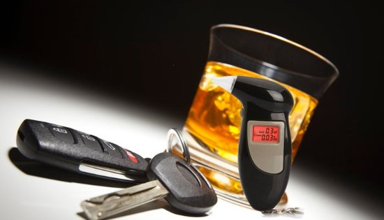 Blaastest - Digitaal - Sleutelhanger - draagbaar - alcoholtester