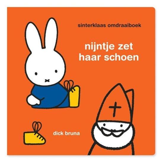 Boek cover Nijntje sinterklaas omdraaiboek van Dick Bruna (Hardcover)