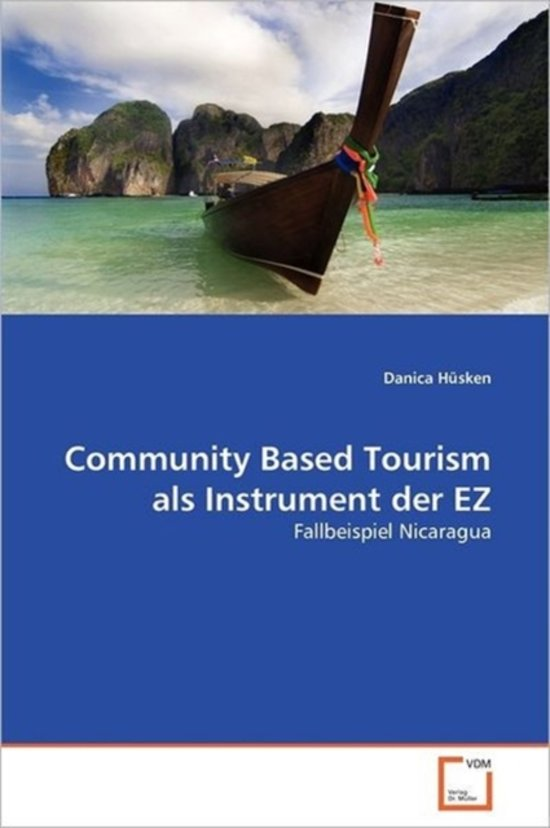 Community Based Tourism ALS Instrument Der EZ