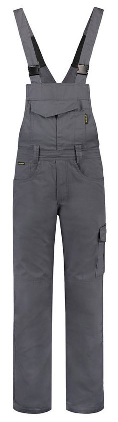 Tricorp Amerikaanse overall - Workwear - 752001 - Convoygrijs - maat 4XL