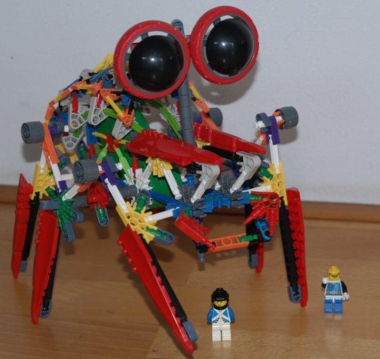 Kleurrijke robot, gemotoriseerd, Loz, Robotic Building sets