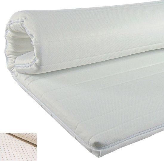 Slaaploods.nl Topdekmatras - Latex Comfort - 80x210 cm - Dikte 6 cm
