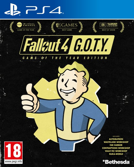 Fallout 4 - Game of the Year Edition (GOTY) - PS4