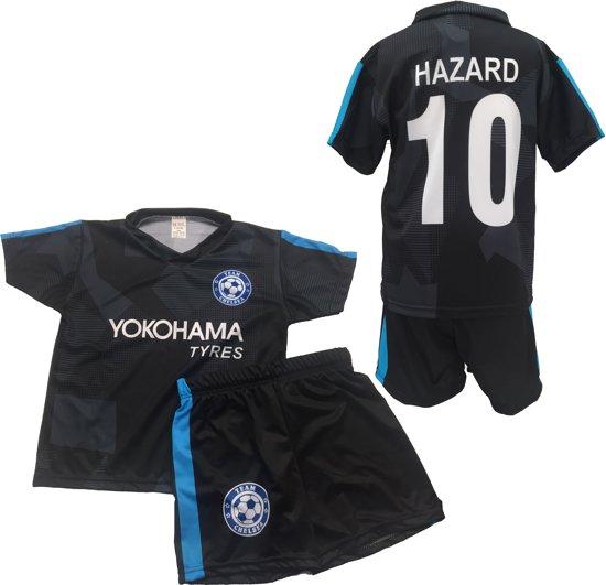 Chelsea - Hazard 10 - Set Shirt & Broek - Size 4 jaar - Zwart