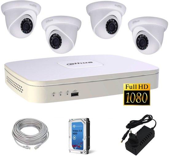 camerabeveiliging set 4 full hd ip camera beveiliging expert. Black Bedroom Furniture Sets. Home Design Ideas