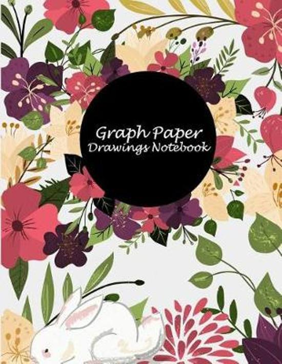 Graph Paper Drawings Notebook