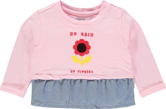 Noppies Shirt Riverview - Flamingo - Maat 50
