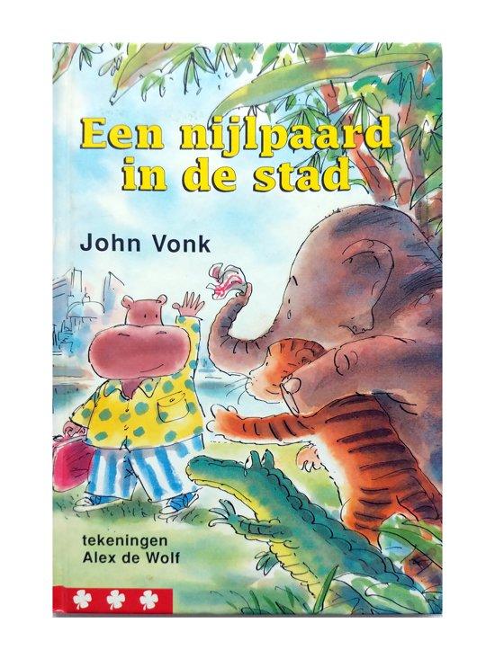 Boek cover Een Nijlpaard In De Stad van John Vonk (Hardcover)